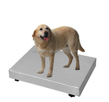 Pet scale/ veterinary scale,AMM5090, with rubber mat, stainless steel/epoxy painted steel construction available, 6000 divisions