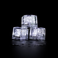 2.5CM Water proof LED Ice light /water activated flashing ice cube