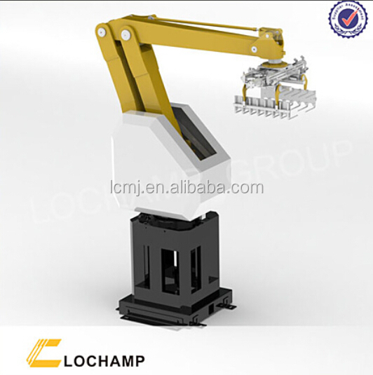 Lochamp widely used pallet stacking robots for block in building material making machinery parts
