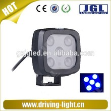 Car accessories 25W 3000lm cree BLUE led work light 4x4 off road led work light for tractors,auto parts,ATV