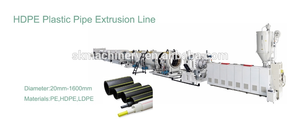 PE PP PPR Pipe Production Line
