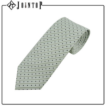 Fashion dot silk tie italian