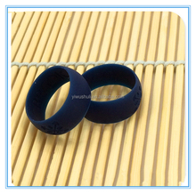 Jinhua Factory Price Supply Rubber Ring Accessories,Eco-friendly Silicone Custom Logo Wedding Finger Ring