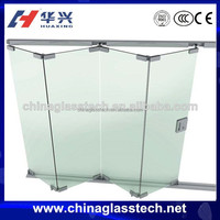 CE&CCC approved Corrosion resistant heat insulation frameless sliding windows