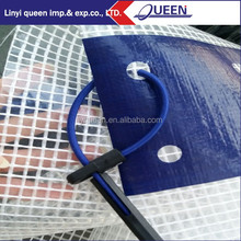 Linyi PE Leno Tarp Construction Plastic Scaffold Sheeting for a clean construction site