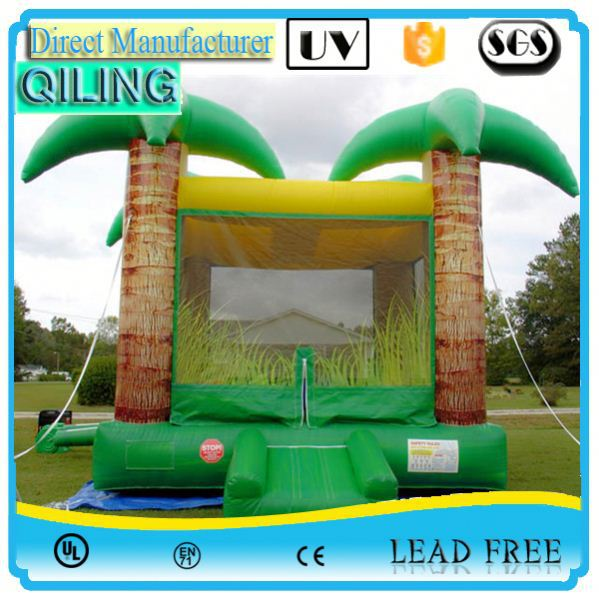 qiling Hot test jump inside pet house inflatable bouncer for promotion