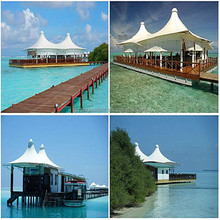 sea water corrosion prevention shade for pier/beach sun shade tent MSST-28