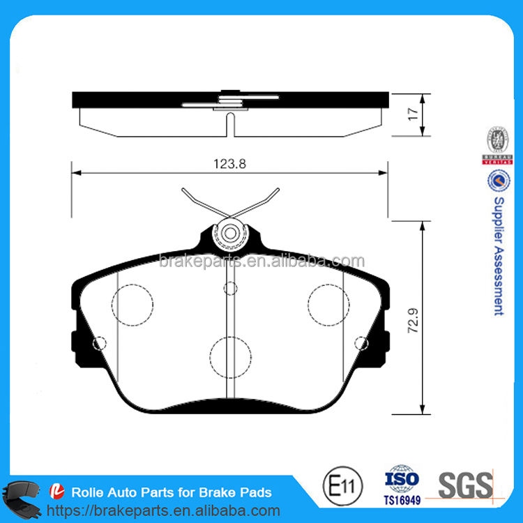 China Car Brake Pads GDB4063 7476-D598 7633-D765 for Car Brake System