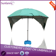 China Wholesale New Style 128cm*8k Umbrella with Anchor Tent Beach Fishing Umbrella Parasol umbrella