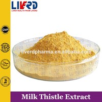 Holy Thistle Extract Powder Silymarine 80%/Herba Silybi P.E in bulk
