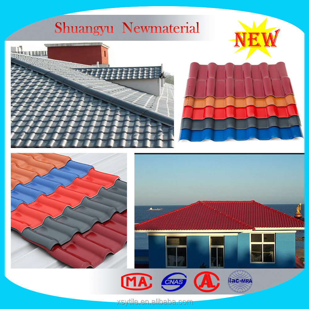 High Utility Corrugated UPVC Roofing Sheet Tile/High Quality Plastic Roof Tiles