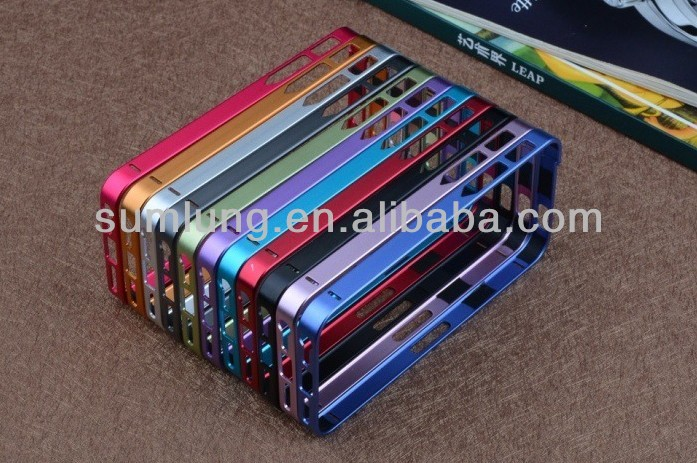 "Ultra-thin 0.7 MM Metal Frame No Screw Simple and Convenient Case for Iphone 4/4S/5 ""11"""