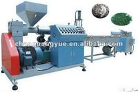 Plastic scraps recycling machine with high effective