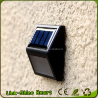2016 New Product garden solar light decoration LED Solar Wall Light/White Yellow Green Red Colors Solar Garden