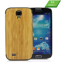 2016 New Slim Design Phone Accessory for Samsung Galaxy S4 Bamboo Case