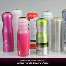 New design colorful aluminum empty aerosol oxygen spray can
