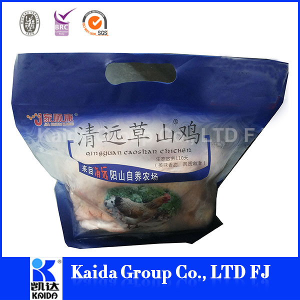 PET/anti-fogging CPP eco food packing bag , bag for roast chicken