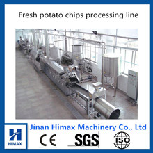 chips production line/industrial potato chips making machine/chips frying machine