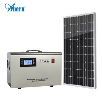 Energy saving solar generator 10 watt for home and business