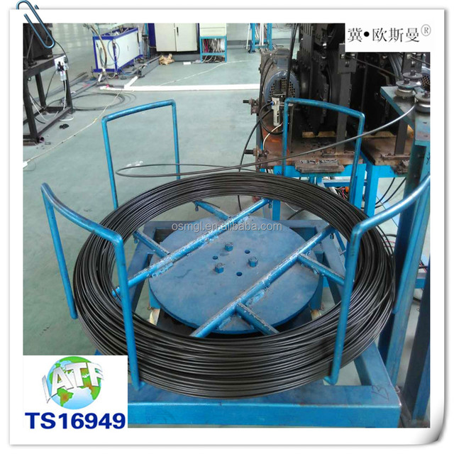 Hot selling the brake pipe /PVF coated tube for automobile