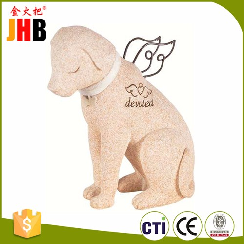 JHB Faithful Angel Memory Memorial Dog Pet Figurine Statue