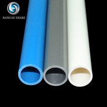 Black White Plastic Underground PVC Solid Wall conduit Pipe Tubing Manufacturers