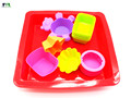 Wholesales in china the newest silicone custom shaped cake pans square