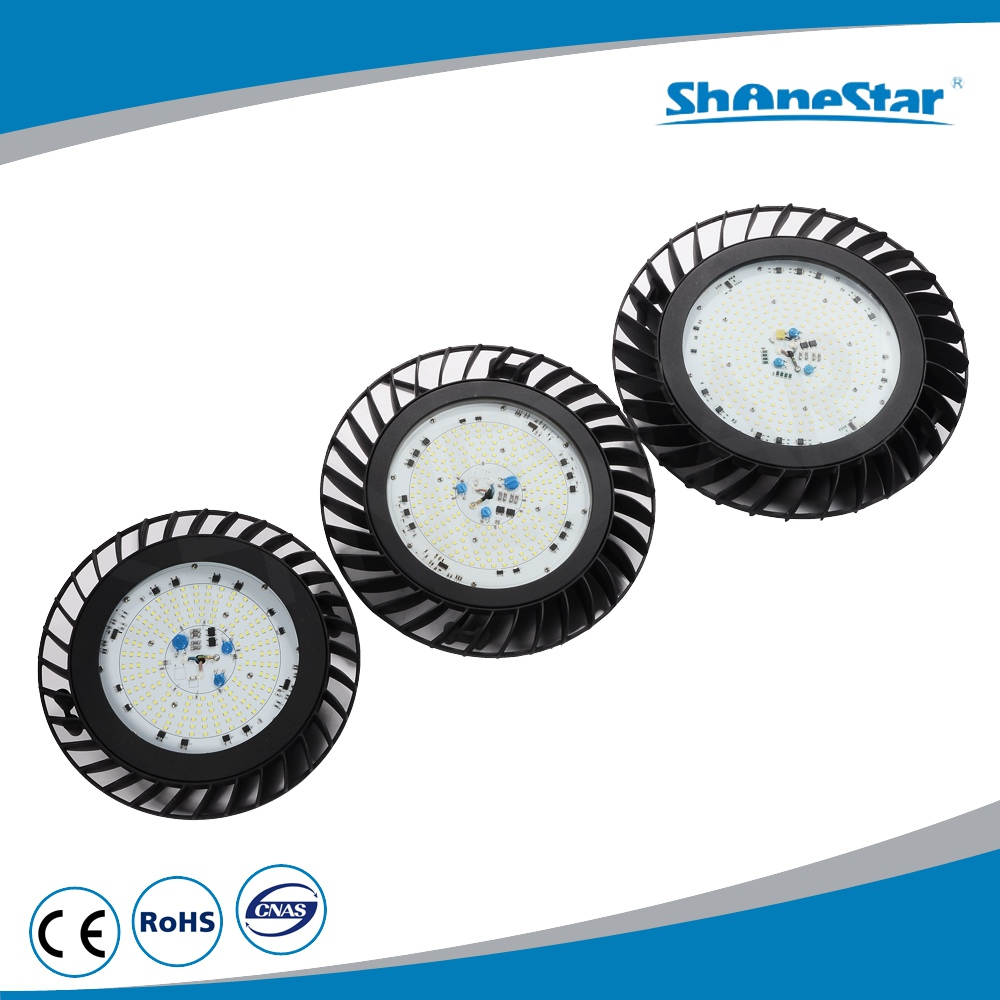 China manufacture 100W grey/black waterproof die casting body galss lens intergrated AC Driver linear high bay led