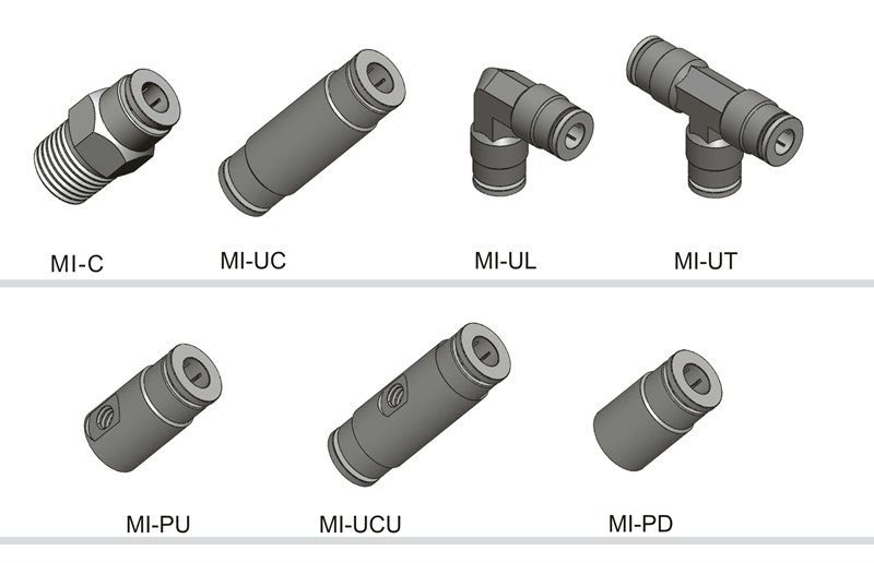 Push-in fittings For misting