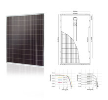 12V 24V 48V 100w 200w 250w 300w best price per watt solar panels