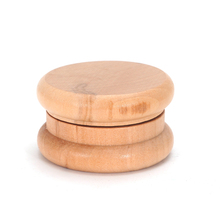 Yiwu vamav wholesale wood 50mm diameter grinder weed herb 2 parts hookah shisha smoke tobacco grinders