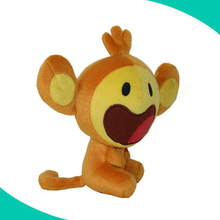 New soft and cute stuffed monkey in cheap factory price