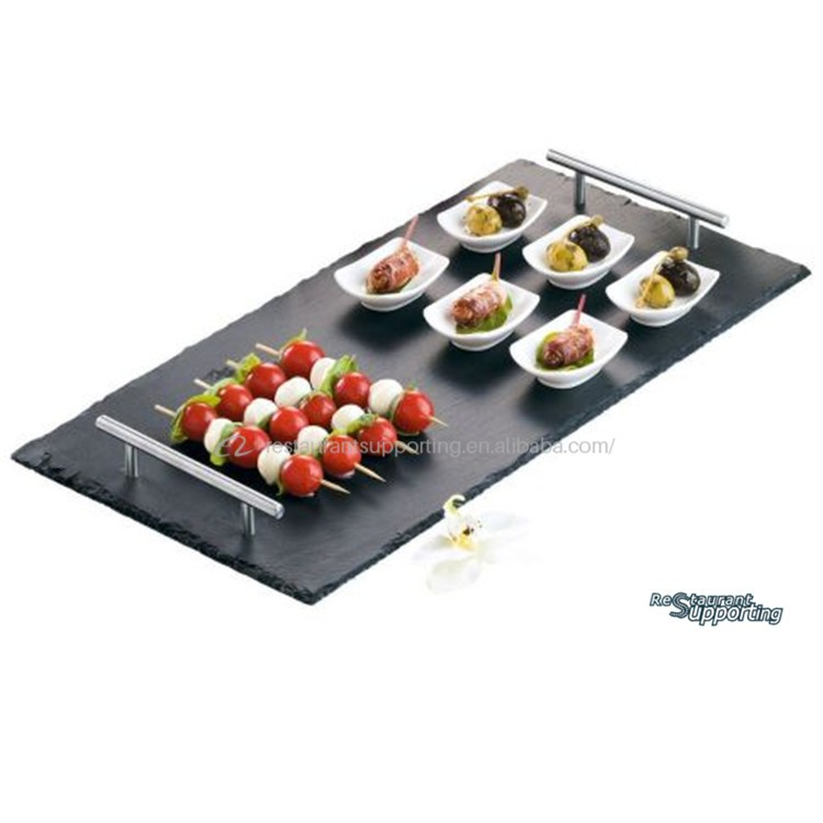 Ret ngulo ard sia sushi prato prato de servir comida for Servir comida