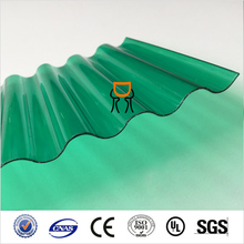high quality Can be colored PC corrugated sheet Polycarbonate sheet 3mm