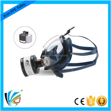 Carbon Filter Silicone Full Face Gas Mask