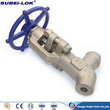 Class 4500 stainless steel globe valve Class 2500 for sea water