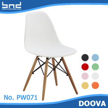 Hot!!! shell side eme wood design dine chair