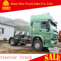 SINOTRUK 4x2 high roof cabin 371hp 30ton truck tractor head