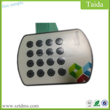Poly Dome Membrane Switch Keyboard 4*4