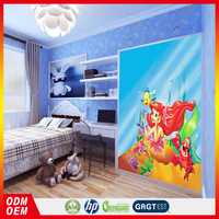 3d animation photo wallpaper The Mermaid Children wall murals
