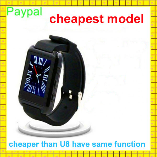 paypal accept hot selling Vibration avatar smart watch mobile phone