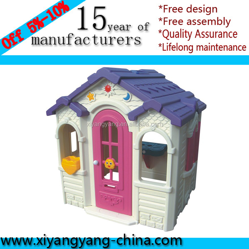 2017 Commercial Indoor Playground Kids Plastic Play House