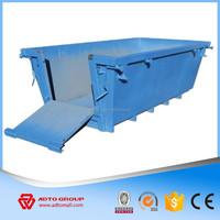 ADTO Group Hook Lift Roll Off Industrial Steel Dumpster Factory in China