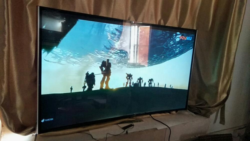 49''55''65 Inch eled smart tv curved UHD resolution 4K 2019