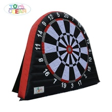 inflatable target shooting game inflatable football darts game inflatable soccer dart board
