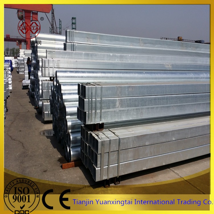 galvanized welded carbon square steel tube 666 with competitive price