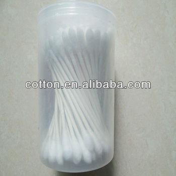 Paper stick cotton buds 100pcs spiral package