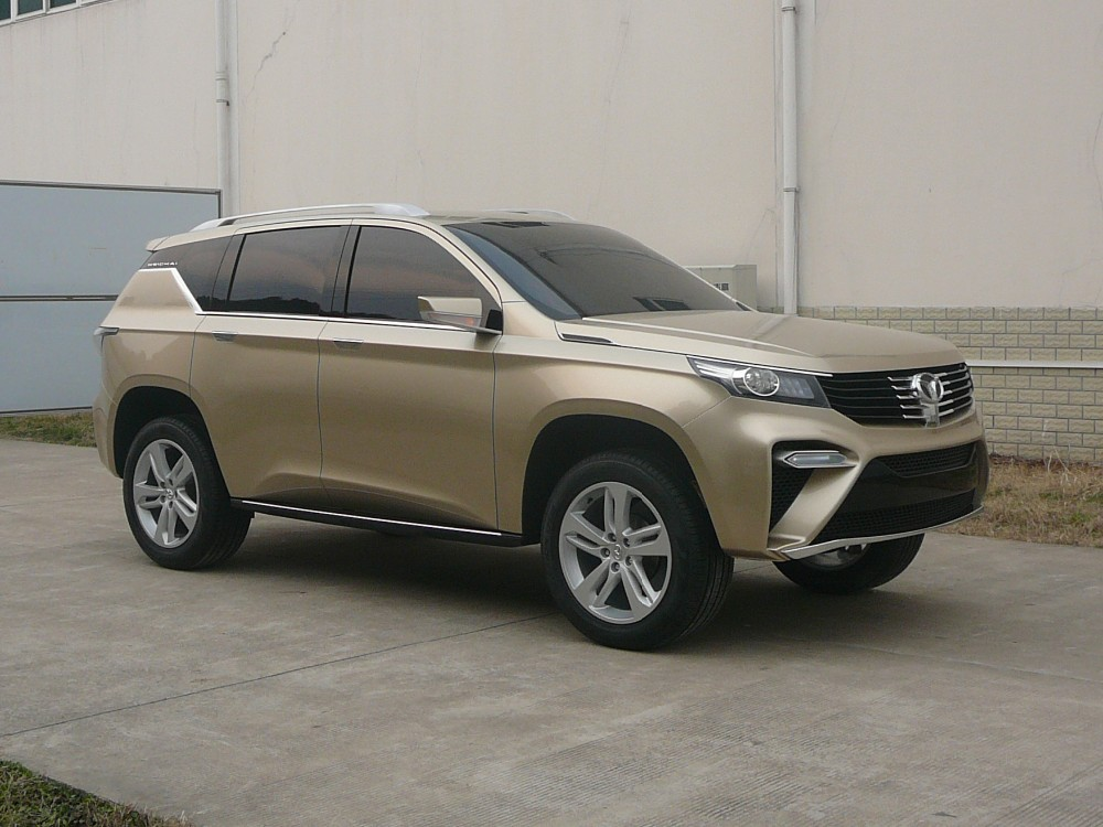 Weichai Motor Functional Big Size SUV (Concept Car)