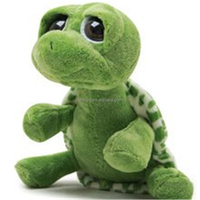 Green Turtle Big Eyed Tortoise Stuffed Baby Toys Plush Sea Animal