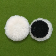 "3""4"" 5"" 6"" 7"" 8"" self adhesive wool polishing balls for marble polishing pad fleece buffing bonnets"